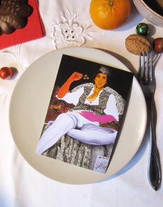 """Weihnachtskarte """"Haselnüsse"""""""